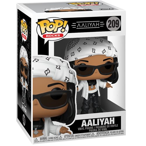 Aaliyah Pop! Vinyl Figure, Not Mint