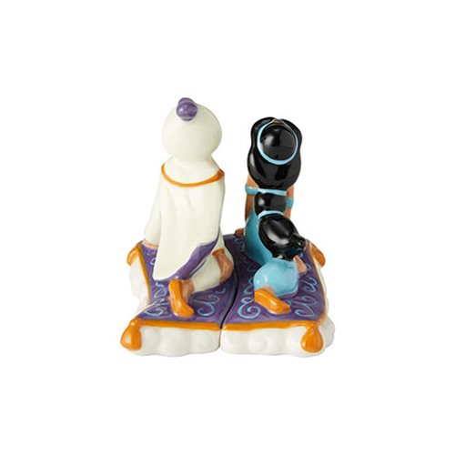 Disney Aladdin Aladdin and Jasmine Salt and Pepper Shaker Set