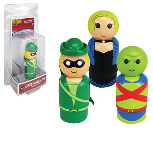 DC Classic Pin Mates Wooden Collectibles Set 1