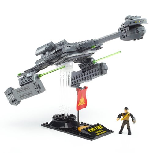 Star Trek: The Original Series Mega Bloks Klingon D-7 Battlecruiser Vehicle