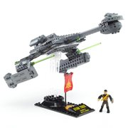 Star Trek: TOS Mega Bloks Klingon D-7 Battlecruiser Vehicle