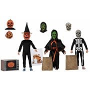 Halloween 3 Season of the Witch 8-Inch Scale Cloth Action Figure 3-Pack