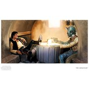 Star Wars The Gunslinger by Brian Rood Paper Giclee Art Print