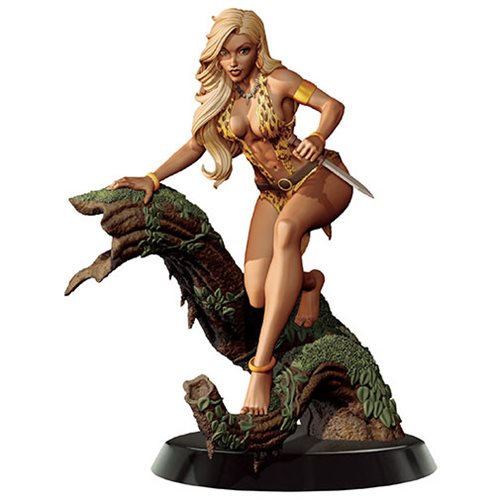 Women of Dynamite Sheena Queen of the Jungle by J. Scott Campbell Statue
