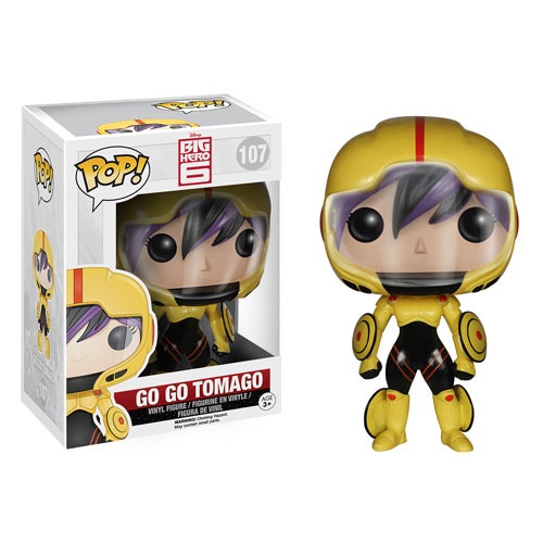 Big Hero 6 Go Go Tomago Pop! Vinyl Figure, Not Mint