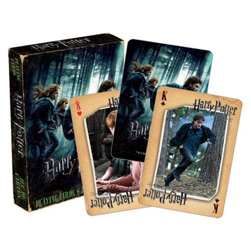 Harry Potter and the Deathly Hallows Part 1 Playing Cards