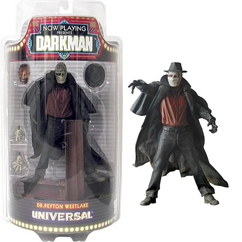 Now Playing: Darkman Action Figure, Not Mint