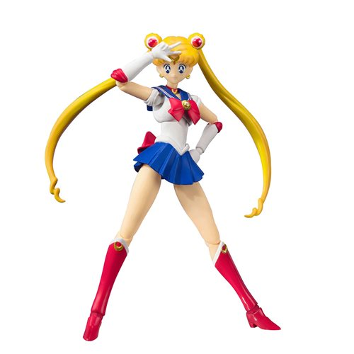 Pretty Guardian Sailor Moon Sailor Moon Animation Color Edition S.H.Figuarts Action Figure