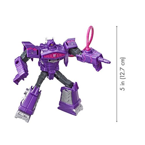 Transformers Cyberverse Spark Armor Solar Shot Shockwave