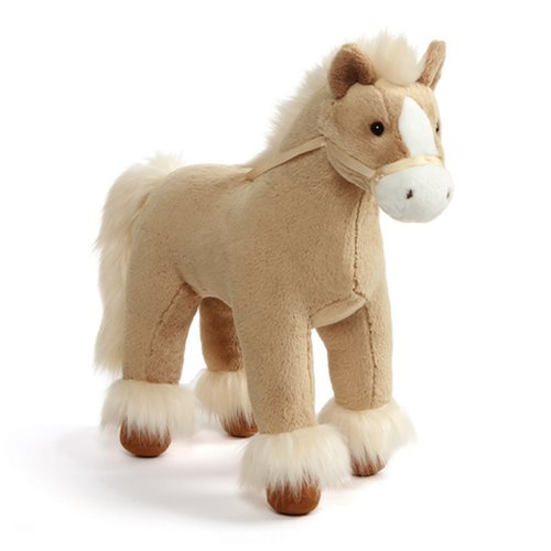 Dakota Clydesdale Horse Tan 15-Inch Plush