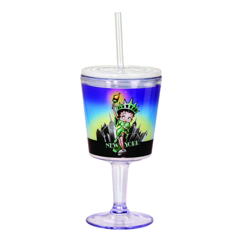 Betty Boop Liberty Insulated Goblet with Lid