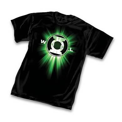 Green Lantern Symbol Will T-Shirt