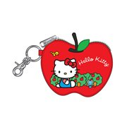 Hello Kitty Apple Die Cut Coin Bag
