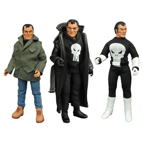 Punisher 8-Inch Retro Action Figure Set