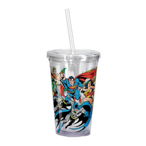 DC Comics Superheroes Travel Cup