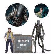 Aliens Hadley's Hope 7-Inch Figure 2-Pack-, Not Mint