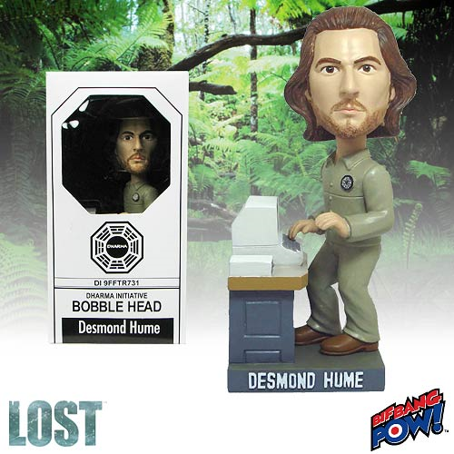 Lost Desmond Hume Bobble Head, Not Mint