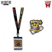 Jay and Silent Bob Reboot Lanyard and Mooby The Golden Calf Pin Set