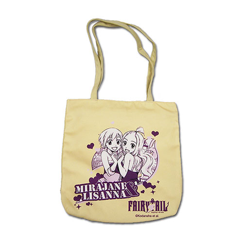 Fairy Tail Mirajane and Lisanna Tote Bag