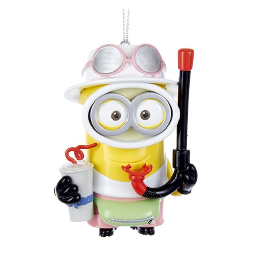 Minions Tourist Jerry 2 1/4 Resin Ornament