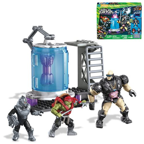Mega Bloks Teenage Mutant Ninja Turtles: Out of the Shadows Kraang Cryo Chamber Playset