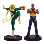 Marvel Fact Files Special #30 Heroes For Hire Statue Set with Collector Magazine