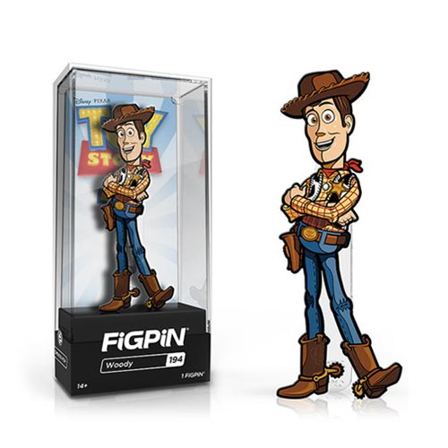 Toy Story 4 Woody FiGPiN Enamel Pin
