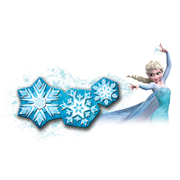 Disney Frozen Snowflake Light Dance Room Light