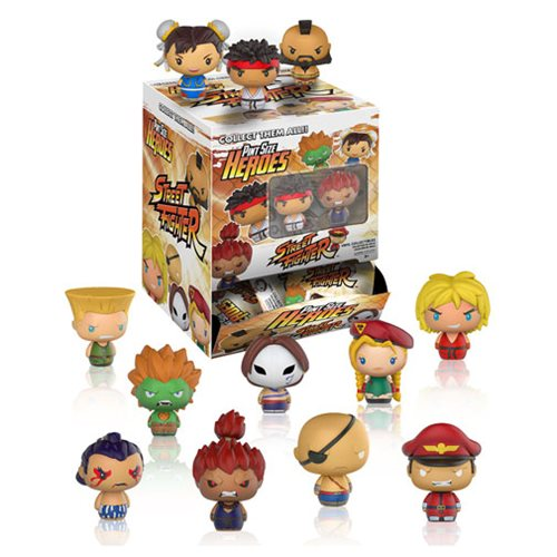 Street Fighter Pint Size Heroes Mini-Figure Display Case