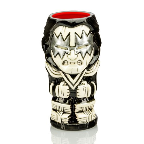 KISS The Spaceman 21 oz. Geeki Tikis Mug