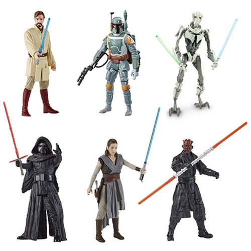Star Wars Galaxy of Adventure Action Figures Wave 3 Case