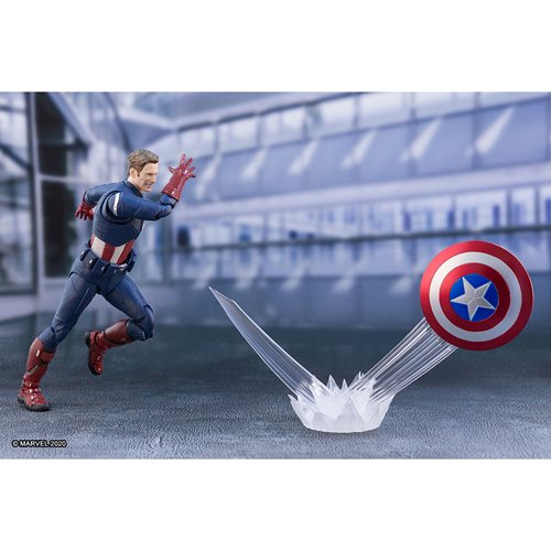 Avengers: Endgame Captain America Cap vs Cap SH Figuarts Action Figure