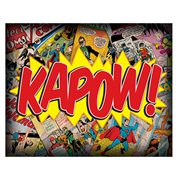 DC Comics Kapow Comic Collage Canvas Print