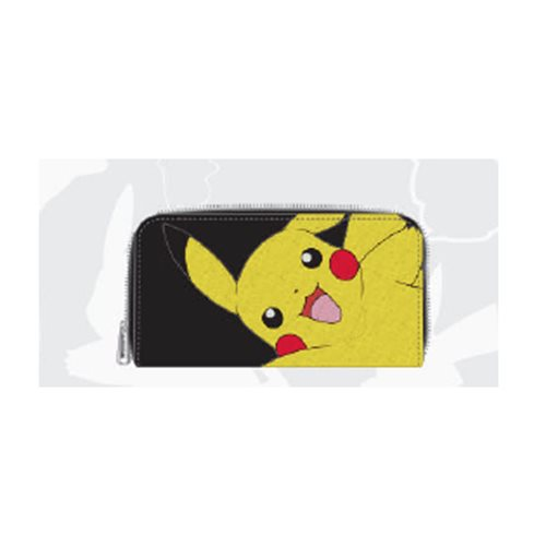 Pokemon Pikachu Waving Zip-Around Wallet