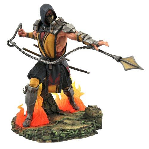 Mortal Kombat 11 Gallery Deluxe Scorpion Statue