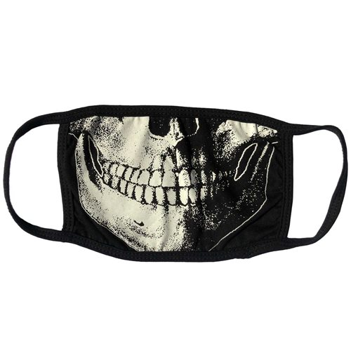 Skull Death White Face Mask