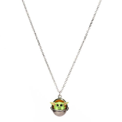 Star Wars The Mandalorian Grogu Pendant Necklace