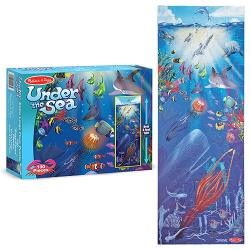 Under The Sea Floor 100-Piece Puzzle