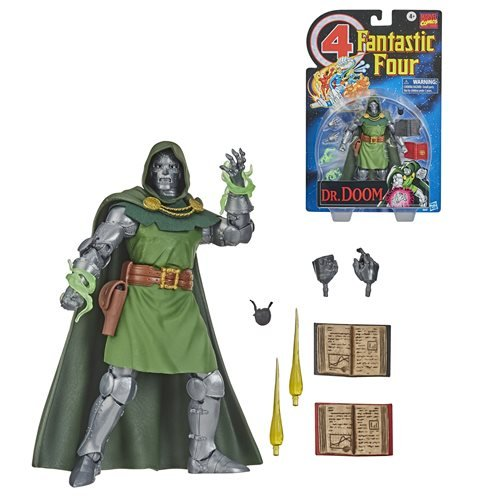 Fantastic Four Marvel Legends Series 6-Inch Doctor Doom Action Figure - Exclusive, Not Mint