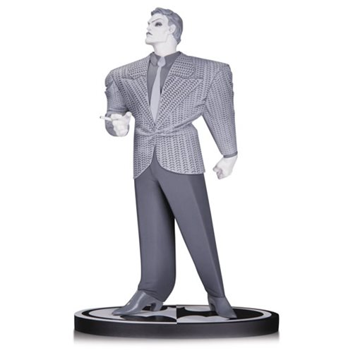 The Dark Knight Returns Black And White Joker By Frank Miller Statue