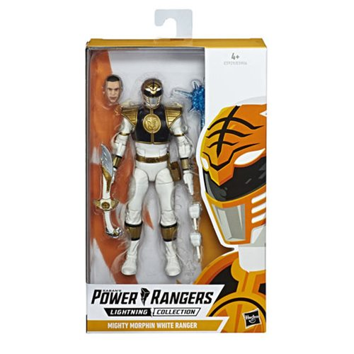 Power Rangers Lightning 6-Inch White Ranger Action Figure