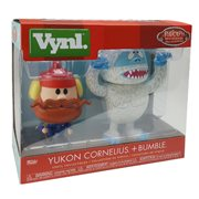 Rudolph Bumble and Yukon Cornelius Vynl. Figure 2-Pack
