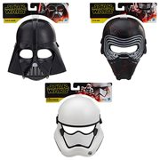 Star Wars: The Rise of Skywalker Masks Wave 1 Set