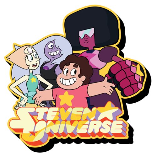 Steven Universe Cast Funky Chunky Magnet