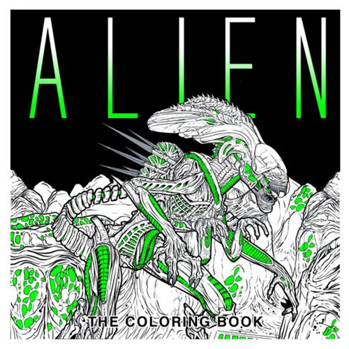 Alien: The Coloring Paperback Book