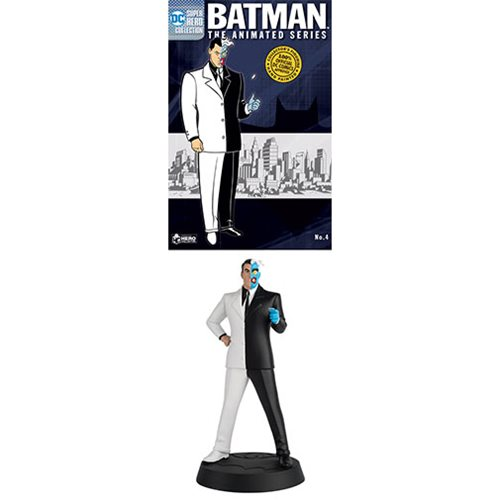 Batman: The Animated Series Series 2 Two-Face Statue with Collector Magazine #4