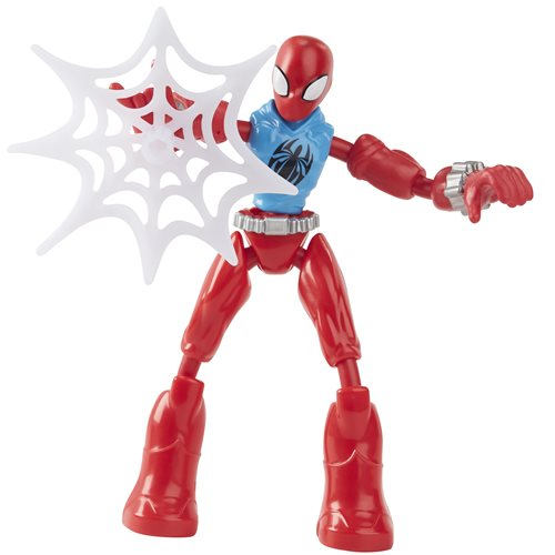 Spider-Man Bend and Flex Scarlet Spider Action Figure