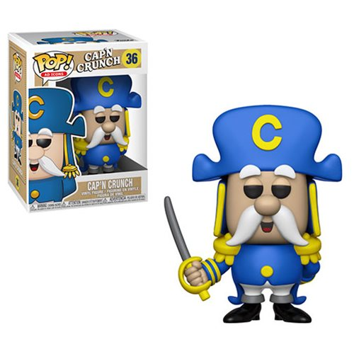 Quaker Oats Captain Crunch with Sword Pop! Vinyl Figure #36