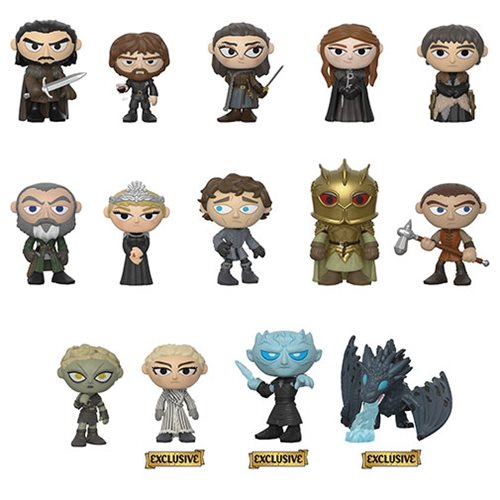 Game of Thrones Mystery Minis Random 4-Pack