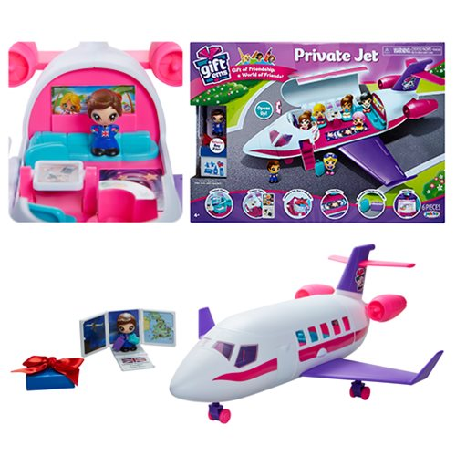 Gift 'Ems Private Jet Playset